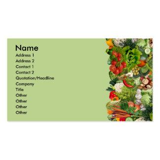 Veggies Business Card