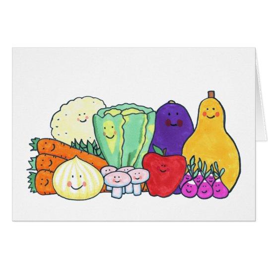 Veggies Card