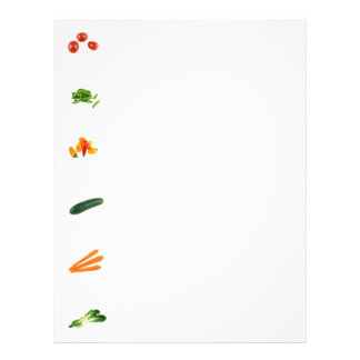 Veggies Customizable Letterhead