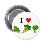 veggies del corazón i pins