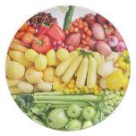 Veggies Dinner Plate