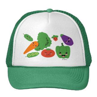 Veggies felices gorra