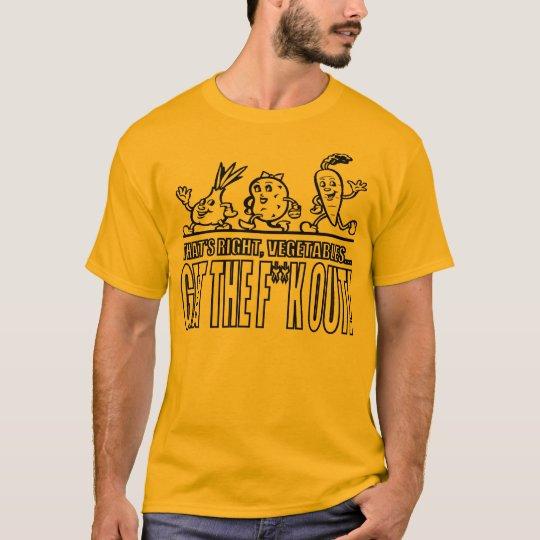 Veggies: Just Go T-Shirt