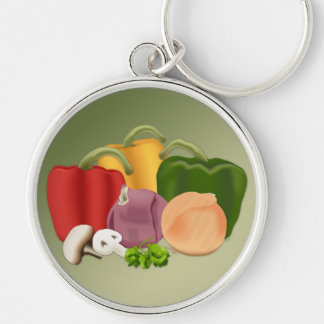 Veggies Keychain