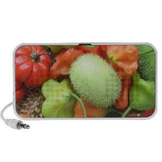 Veggies ornamentales iPod altavoces