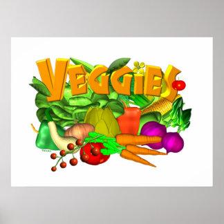 Veggies Poster