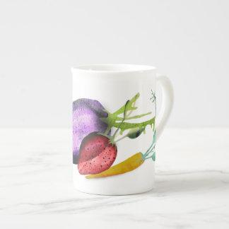 Veggies Taza De Porcelana