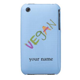 Veggies Vegetable Lovers Vegan Pride iphone Custom iPhone 3 Cover
