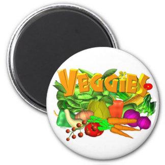 Veggies  vegetable salad by Valxart- Magnet