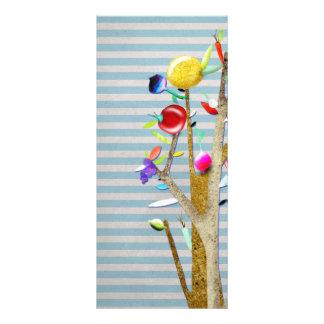 Veggies Watercolor Rack Card