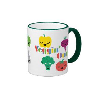 Veggin' Out mug