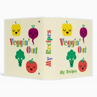 Veggin' Out - recipe binder