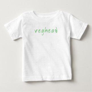 Veghead Vegetarian Vegan Humor Funny Kid's Tshirt