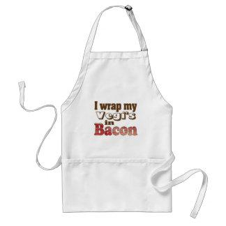 Vegi Wrapped Bacon Adult Apron