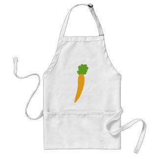 vegie carrot icon adult apron