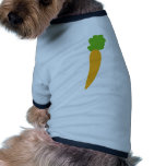 vegie carrot icon pet t-shirt