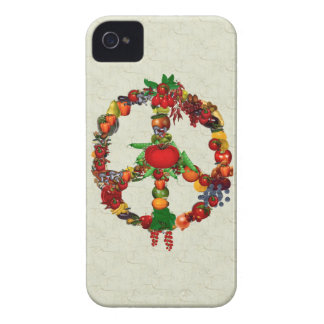 Vegie Peace Sign iPhone 4 Cover