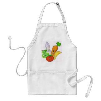 vegies adult apron