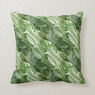 Vegies verde exótico: OneOFaKIND colorido Cojines