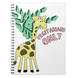 Vegitarians Only Notebook