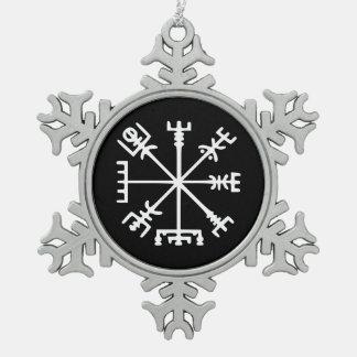 Vegvísir (compás de Viking) Adorno