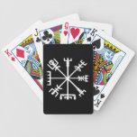 Vegvísir (compás de Viking) Baraja Cartas De Poker