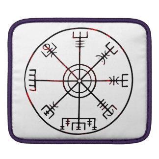 Vegvisir Icelandic Protective Runes Sleeve For iPads
