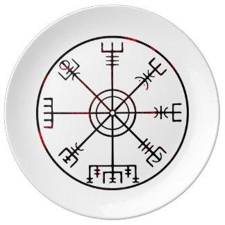 Vegvisir Icelandic Stave Dinner Plate