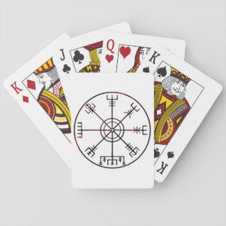Vegvisir Icelandic Stave Playing Cards