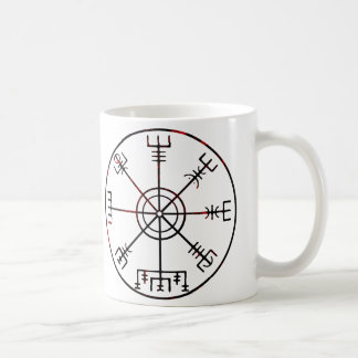Vegvisir runic compass coffee mug