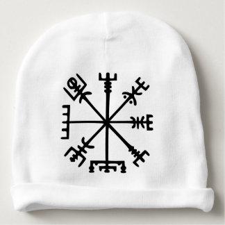 Vegvísir (Viking Compass) Baby Beanie