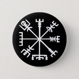 Vegvísir (Viking Compass) Button