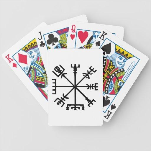 Vegvísir (Viking Compass) Card Decks