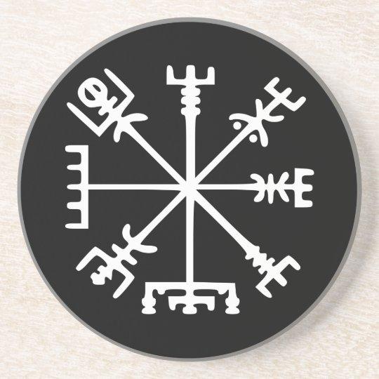 Vegvísir (Viking Compass) Coaster
