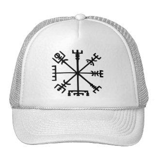 Vegvísir (Viking Compass) Trucker Hats