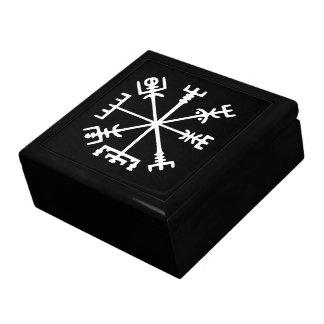Vegvísir (Viking Compass) Keepsake Box