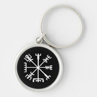Vegvísir (Viking Compass) Key Chains