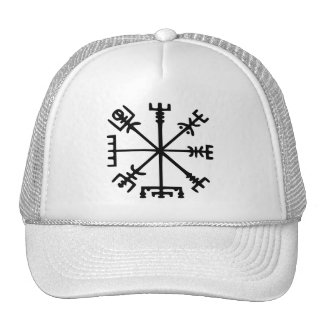 Vegvísir (Viking Compass) Trucker Hat