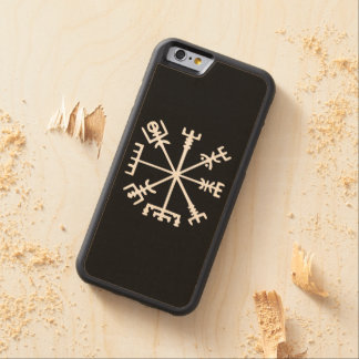 Vegvísir (Viking Compass) Carved® Maple iPhone 6 Bumper Case