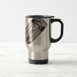Vehicle frame travel mug