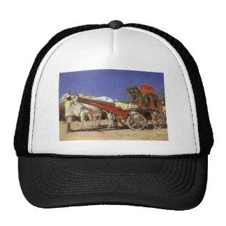 Vehicle of rich people in Delhi by Vasily Vereshch Trucker Hat