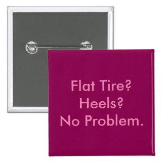 Vehicle Repair Flat Tire Button