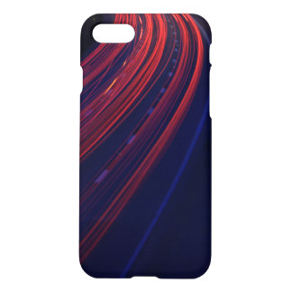 Vehicle Traffic Tail Light Trails iPhone 8/7 Case