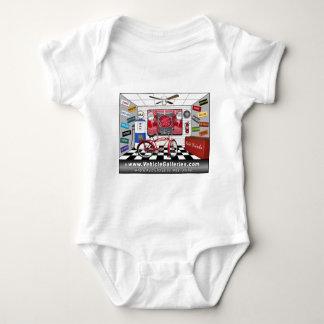 VehicleGalleries.com garage scene Baby Bodysuit