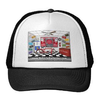 VehicleGalleries.com garage scene Trucker Hat