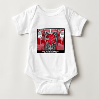 VehicleGalleries.com Logo on Vintage Car Grill Baby Bodysuit