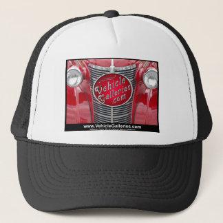 VehicleGalleries.com Logo on Vintage Car Grill Trucker Hat