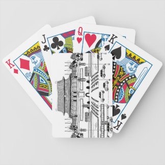 Vehicles in Pagoda Poker Deck