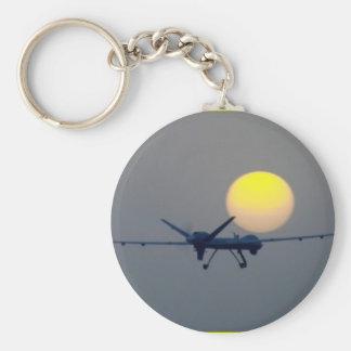 VEHÍCULO AERONÁUTICO SIN TRIPULACIÓN DEL UAV LLAVERO REDONDO TIPO PIN