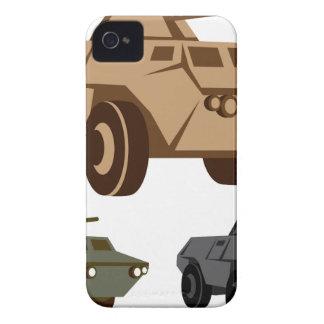 Vehículo blindado de transporte de personal de APC iPhone 4 Carcasa